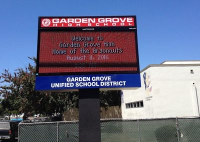 Garden Grove High School, Orange County, California