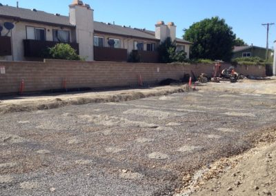 Parking Lot Ready To Pave